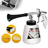 KEEBO High Pressure Car Cleaning kit, Tornador Foamaster Washing Cleaner Kit with 3 Set Nozzle Sprayer Connector,Car wash Mitt and Spare Hose, Car Care Essentials(US Vesion)