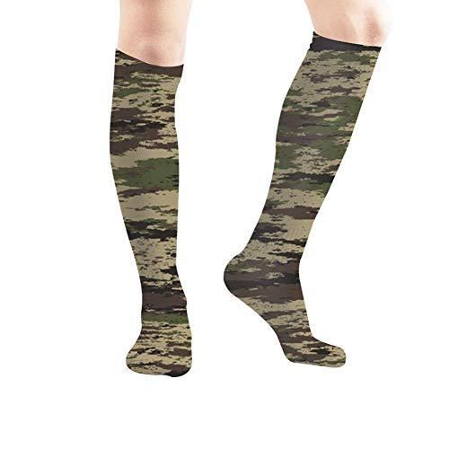 goodsale2019 Abstrait militaire chasse Camouflage Camo femmes chaussettes hautes pour hommes chaussettes athlétiques 19… 1