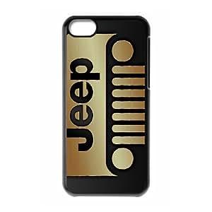 iPhone 5C Custom Cell Phone Case Shepherd Jeep Car Logo Case Cover WWFF34222