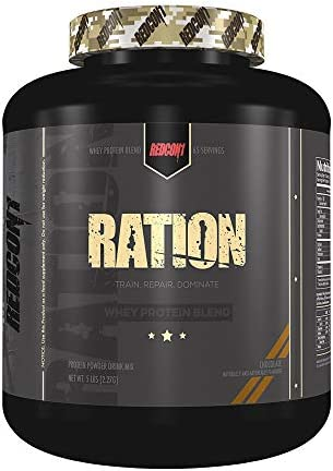 Redcon1 Ration Whey Protein Blend Protein Powder Drink Mix 5 Pounds Chocolate, 5 Pounds