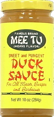 Mee Tu Duck Sauce - 10 ounce - 12 per case.