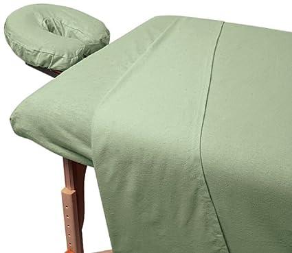 For Pro Premium Flannel Sheet 3-Piece Set Chocolate TNG Worldwide