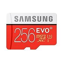 Samsung MB-MC256DA EVO Plus microSDXC 256GB UHS-I Card with Adapter