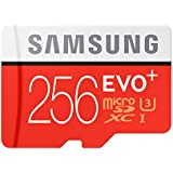 Samsung EVO+ 256GB UHS-I microSDXC U3 Memory Card with Adapter (MB-MC256DA/AM) (2 Pack)