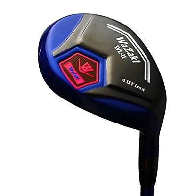 Japan WaZaki Black Oil Finish WL-IIs 4-SW Mx Steel Hybrid Irons Golf Club Set + Headcover from Wazaki