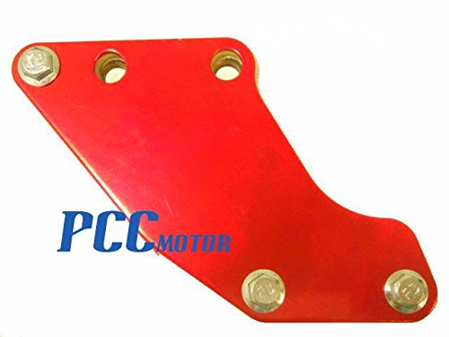 8Z RED CHAIN GUARD GUIDE XR50 CRF50 SDG SSR 70 107 110 125 PIT BIKE CG03 PCC