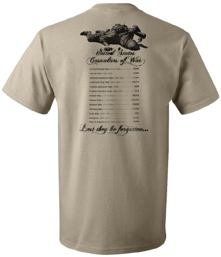Casualties of War Forgotten T-Shirt - XL