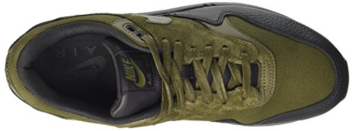 Nike Herren Air Max 1 Premium Gymnastikschuhe Grün (Medium Olive/dark Stucco/anthracite)