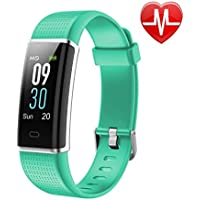 LETSCOM Fitness Tracker, Heart Rate Monitor Watch with...