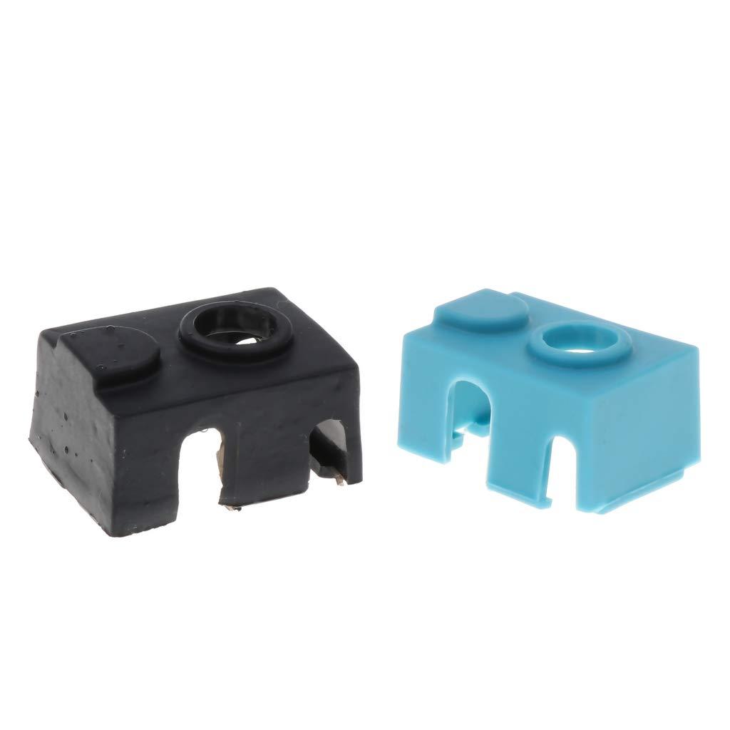 perfk Impresora 3D Bloque Calentador Cubierta De Silicona ...