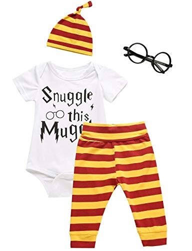 3Pcs/Set Baby Boy Girl Infant Funny Rompers 03 Months