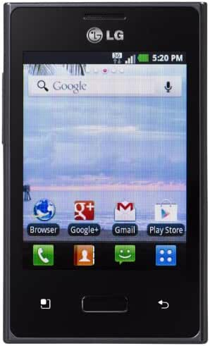 LG Optimus Dynamic Android Prepaid Phone (Net10)