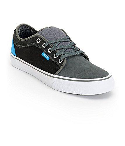 Vans Men's Chukka Low Charcoal Sky Blue Sneakers (11.5)