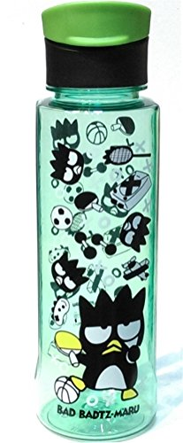 31oz Leakproof Bad Badtz-Maru BPA Free Tritan Flip-top Cap Water Bottle