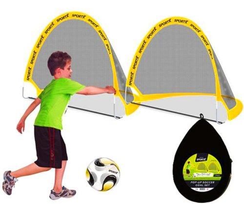 POP UP Fußball Tor Faltbar 2 Stück
