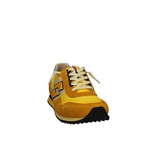 LOTTO Legenda S8845 Sneakers Herren Gewebe Gelb 41