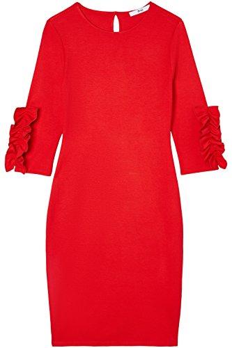 rosso Con Rouches Find Rosso Donna Vestito PTSgRY