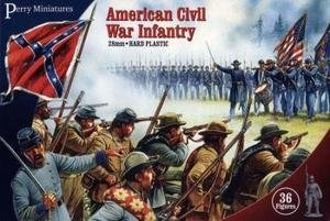 Perrys Miniatures Pmacw1 Perry Miniatures 28Mm - American Civil War Infantry Model Soldiers - Civil War Miniature Soldiers