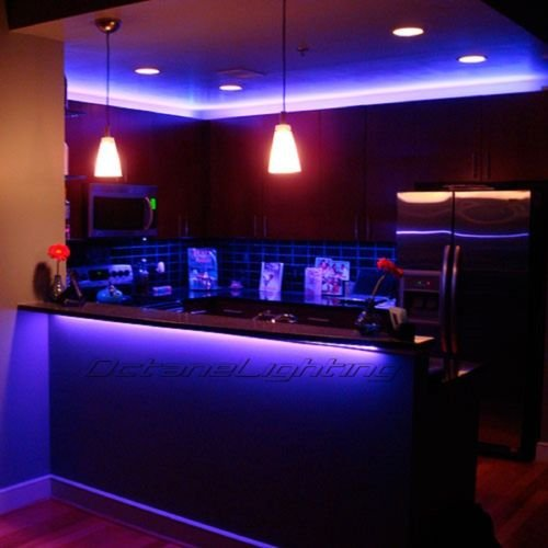 OCTANE LIGHTING Led Rgb Color Changing Bar Dj Rave Dance Pool Table Night Club Light Bulb Strip
