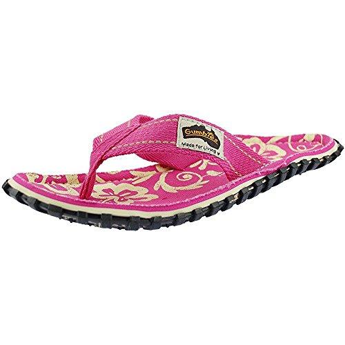 Hibiscus Tongs Femme Gumbies Pour Pink wqxIvU7Fd