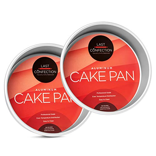 Last Confection 2-Piece Round Cake Pan Set - 8