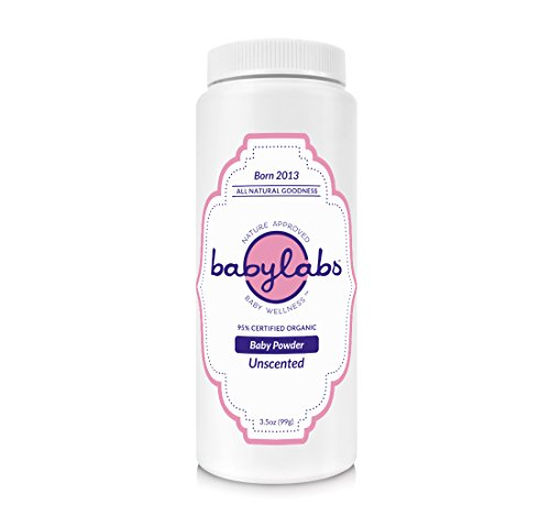 BABYLABS USDA Certified Organic Baby Powder by BabyLabs