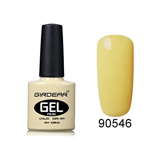 Girdear Soak Off Gel Nail Polish UV LED Nail Art Manicure Po