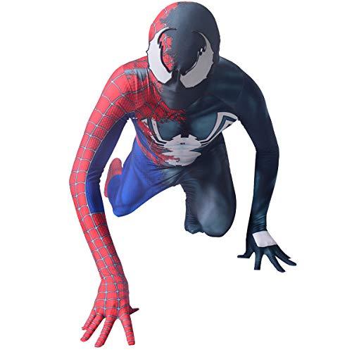 Half Raimi Half Venom Cosplay Costume Spandex Lycra