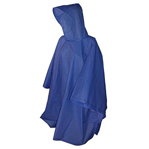Totes Royal Blue Adult Rain Poncho, One Size ()