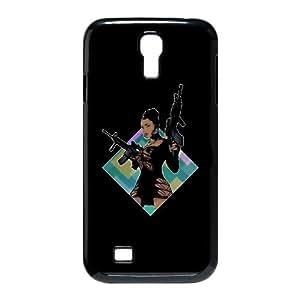HTC One M7 Cell Phone Case Covers White Aurora Borealis gnya