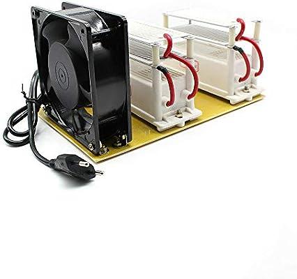 Generador de ozono HaroldDol 20 g/h purificador de ozono portátil ...