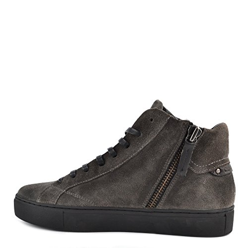 clearance cheap real Crime London Mens' Undercover Grey Suede Hi-Top Trainer Grey in China sale online buy cheap 2015 new JgYSIgfEG