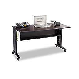 Safco Products 1933 Reversible Top Mobile Desk, 54\