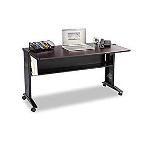 Amazon Com Safco Products 1933 Reversible Top Mobile Desk