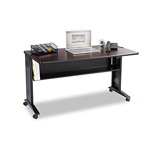 safco-products-1933-reversible-top-mobile-desk-54w-mahogany-medium-oak