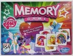 Hasbro My Little Pony Memory Game (My Little Pony Necklace Set)