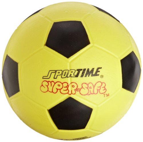 Sportime Super Safe Soccer Inches Yellow