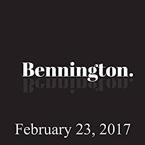 Bennington, February 23, 2017 Radio/TV Program