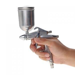 Vstoy touch up spraying paint gun sprayer air for Best automotive paint gun