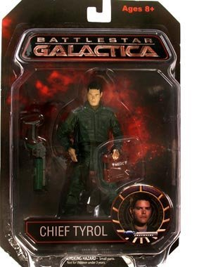 - Battlestar Galactica Series 1 > Chief Tyrol (Autographed) Action Figure