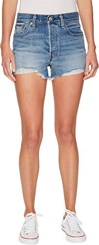 Levi's Women's 501 High Rise Shorts, Bring to Light, 27 (US 4)