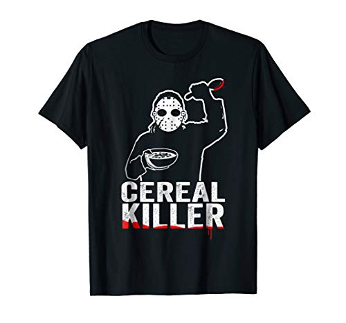 Funny Cereal Killer Shirt - Breakfast T shirt ()