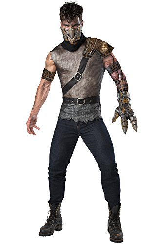 Apocalyptic Costumes - Fun World Men's Wasteland Warrior, Multi, M