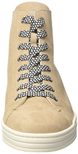Hogan Rebel HXW1820Q400FFY070J, Zapatillas Altas para Hombre Beige (M013/B200)