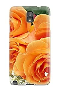 HVinxwX5841kGpVs Tpu Phone Case With Fashionable Look For Galaxy Note 3 - Rose Flower by lolosakes