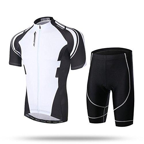 TeyxoCo New Trend Biking Cycling Padded Jersey Set XXXL ()