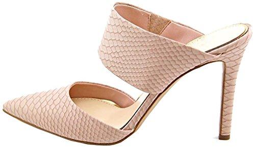 Zapatos beige con cordones formales Calaier para mujer FdfDD9HfT