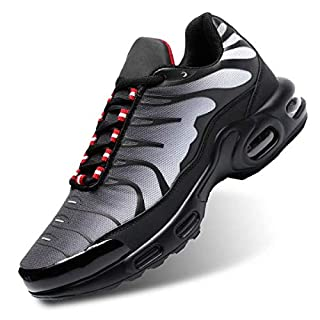 Socviis Men's Fashion Sneaker Air Running Shoes for Men Athletics Sport Trainer Tennis Basketball Shoes Grey 11