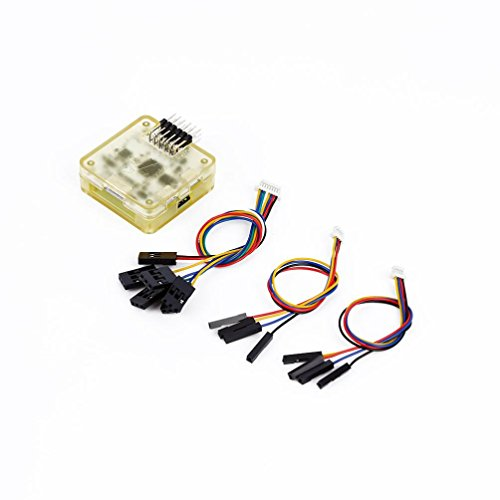 OVERMAL CC3D Flight Controller 32 Bits Processor With Case Side Pin For RC Quadcopter (Flight Controller Case)
