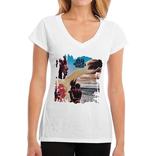 Women's T Shirt Miles Davis Bitches Brew Fashionable